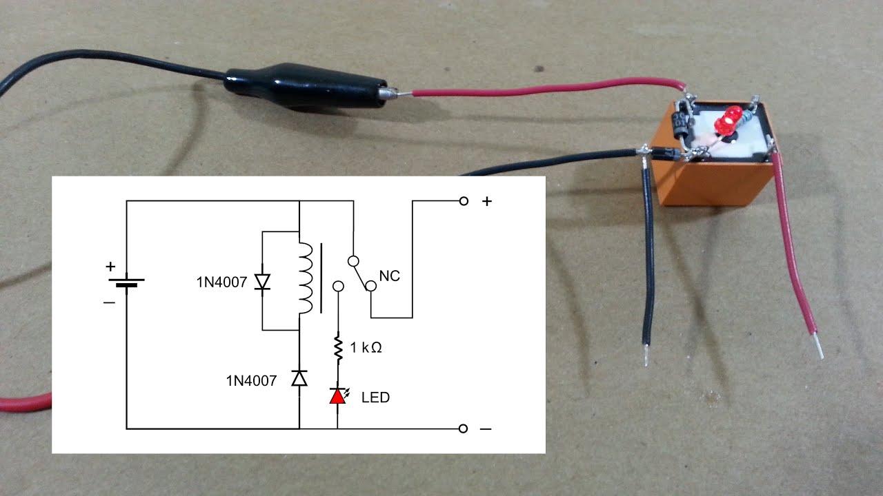 Protecci n contra polaridad inversa youtube - Detector de cables ...
