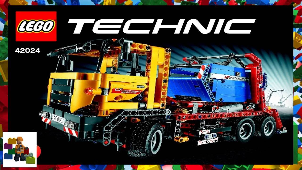 Lego Instructions Technic 42024 Container Truck Book 1 Youtube