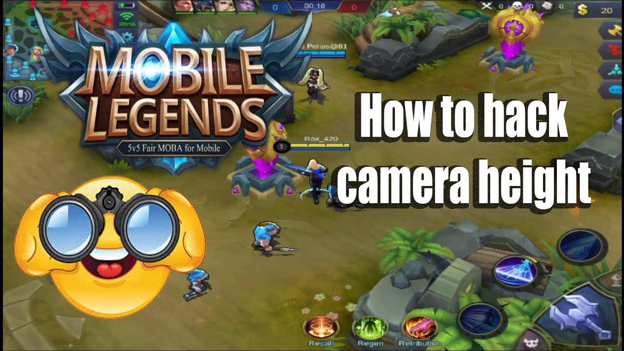 How to hack Mobile Legends Camera Height | 500+ Subscribers Special