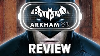 Excited man child plays Batman VR for the first time