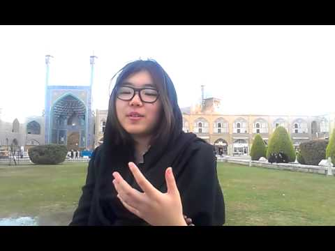 Opinion of Chinese girl about Isfahan