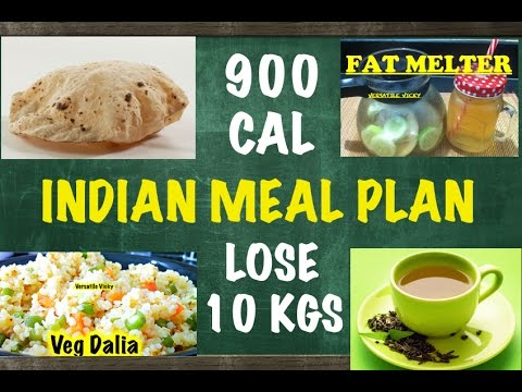 HOW TO LOSE WEIGHT FAST 10Kg in 10 Days - Indian Meal Plan / Indian Diet Plan by Versatile Vicky