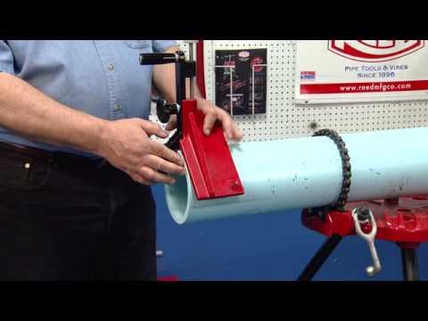 BT2 Manual Pipe Beveler Demo - Reed Manufacturing