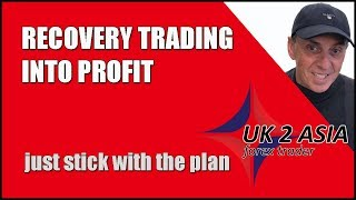 RECOVERY TRADING INTO PROFIT - How to trade forex 17 Sept 2018