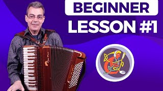 Irish Accordion Lesson 1 - [The Basics] Accordion Maestro Alan Kelly