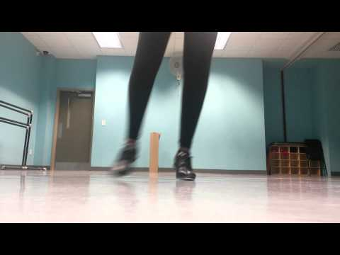 Mollie Booker cups tap dance