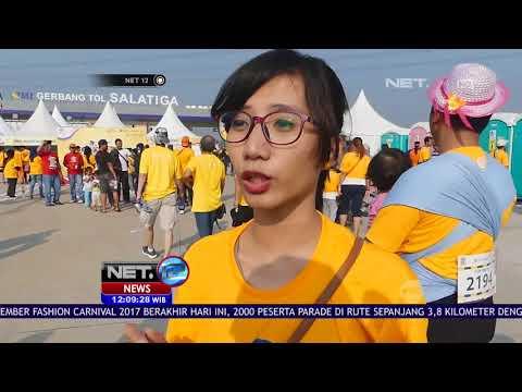 Serunya Olahraga di Tol Salatiga - NET12