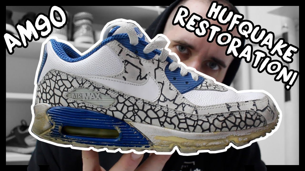 hot sale online 60cfc 787a2 2007 NIKE AIR MAX 90 HUFQUAKE RESTORATION!
