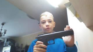 Обзор игрушечного пистолета