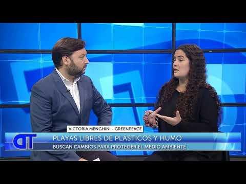 Playas libres de plásticos y humo: Nota con Victoria Menghini, Greenpeace