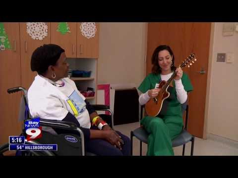 Integrative Arts in Medicine- Tampa General Hospital- Danielle DeCosmo