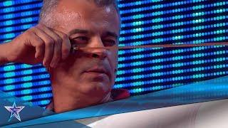 ¿Será capaz de SORPRENDER a RISTO con su TIRACHINAS? | Audiciones 8 | Got Talent España 5 (2019)