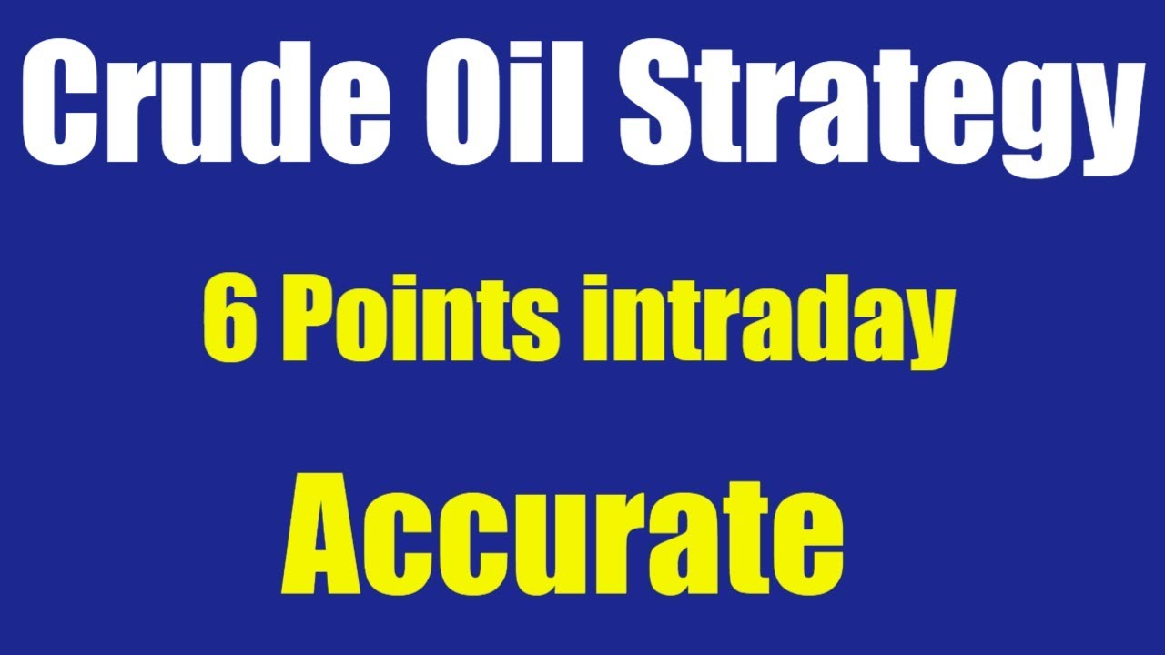 Crude trading strategies