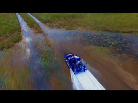 V8 Airboating DJI Drone