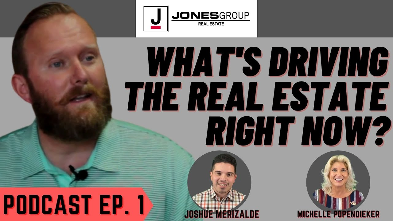 WHAT'S DRIVING REAL ESTATE   COVID-19, US ELECTION, WILL THE MARKET CRASH   JONES GROUP REAL ESTATE