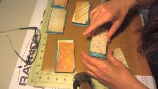 Mini Scrapbook Recycle Toilet Paper Rolls  Step 4 Craft Tutorial