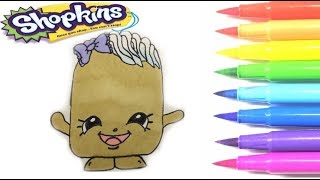 Shopkins coloring twinky winks season 1 How to draw shopkins for kids