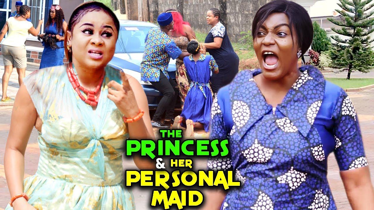 Download THE PRINCESS & HER PERSONAL MAID COMPLETE MOVIE - UJU OKOLI/QUEEN NWOKOYE 2021 LATEST NIGERIAN MOVIE