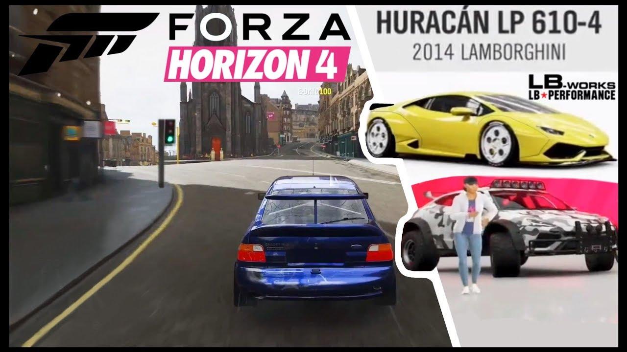 Forza Horizon 4 Cars With Body Kits