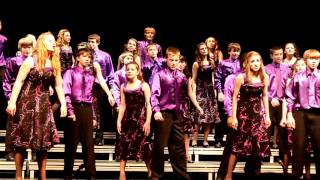 Show Choir Wins 1st Place - Westridge Middle School, Grand Island, Nebraska - 03-28-2011