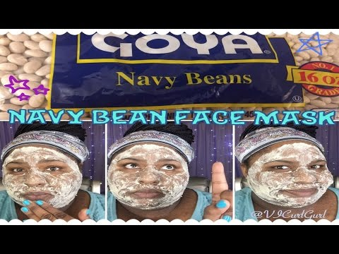 DIY Face Mask - Lighten Dark Spots and Hyperpigmentation Naturally...with Navy Beans!! | Skin Care