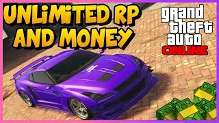 GTA 5 Online: UNLIMITED MONEY & RP! Best Fast Easy Money/RP Not