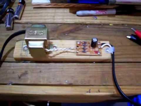 Homemade 12 Volt Power Supply - YouTube