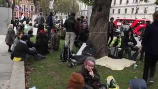 Occupy Democracy at Parliament Square 23/10/2014 (From 11am till 10pm)