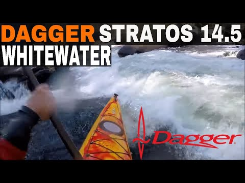 Dagger Stratos 14.5 in Class IV Whitewater!