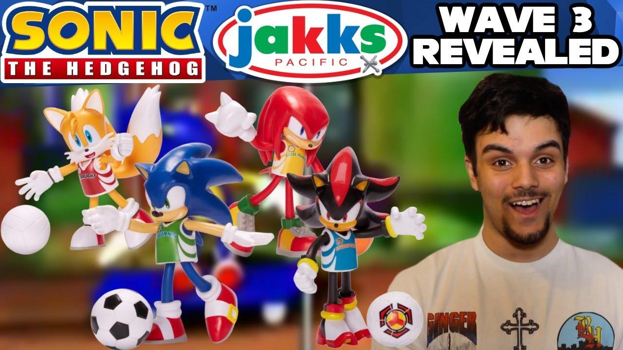 Sonic The Hedgehog Jakks Pacific Bendable Figures Wave 3 Revealed Youtube
