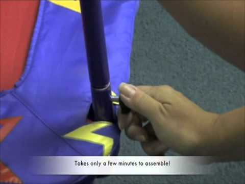 How To Assemble Kids Safety Trampoline With Handle From One Step