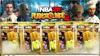 NBA Playgrounds 2: MASSIVE HALLOWEEN VIP SWAG PACK OPENING🎃4KHD Gameplay!!!