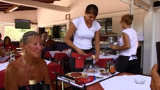 Ulika   Tartaar eten bij Danijela   Istra camping - 2016