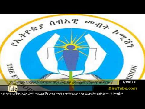 DireTube News - Ethiopian Human Rights Commission said election process was successful