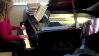 my tribute to god be the glory how can i say thanks piano solo