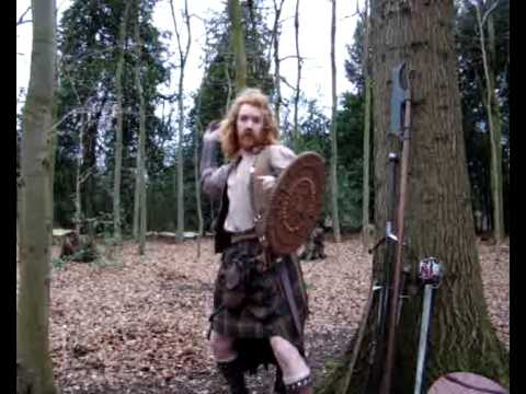 Scottish Clan Warrior Kilt and - 24.9KB