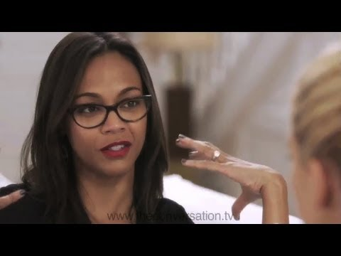 ZOE SALDANA on Her Sense of Self  THE CONVERSATION WITH AMANDA DE CADENET