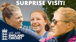 Surprise Visit By England Superstars! | England Cricket 2019