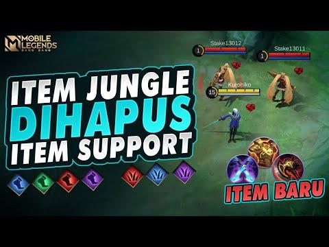 Begini Penjelasan Item Jungle dan Item Support Baru Di Mobile Legends