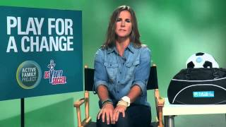 Soccer Talk with World Cup Champion Brandi Chastain
