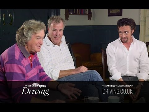 World exclusive: Clarkson, Hammond and May talk about The Grand Tour