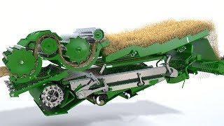 John Deere - cosechadora Serie T - Animación