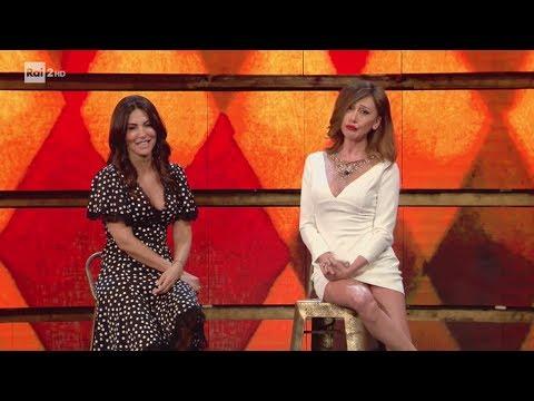 Belen e Sabrina Ferilli - Virginia Raffaele - Facciamo che io ero 24/05/2017
