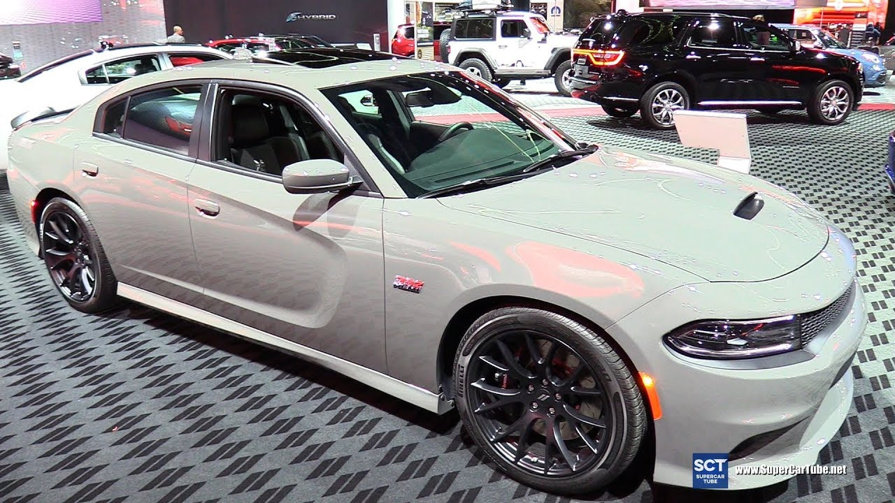Dodge Charger 392 Hemi >> 2018 Dodge Charger R T 392 Hemi Exterior And Interior Walkaround 2018 Detroit Auto Show