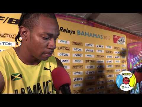 Yohan Blake unhappy with team set-up