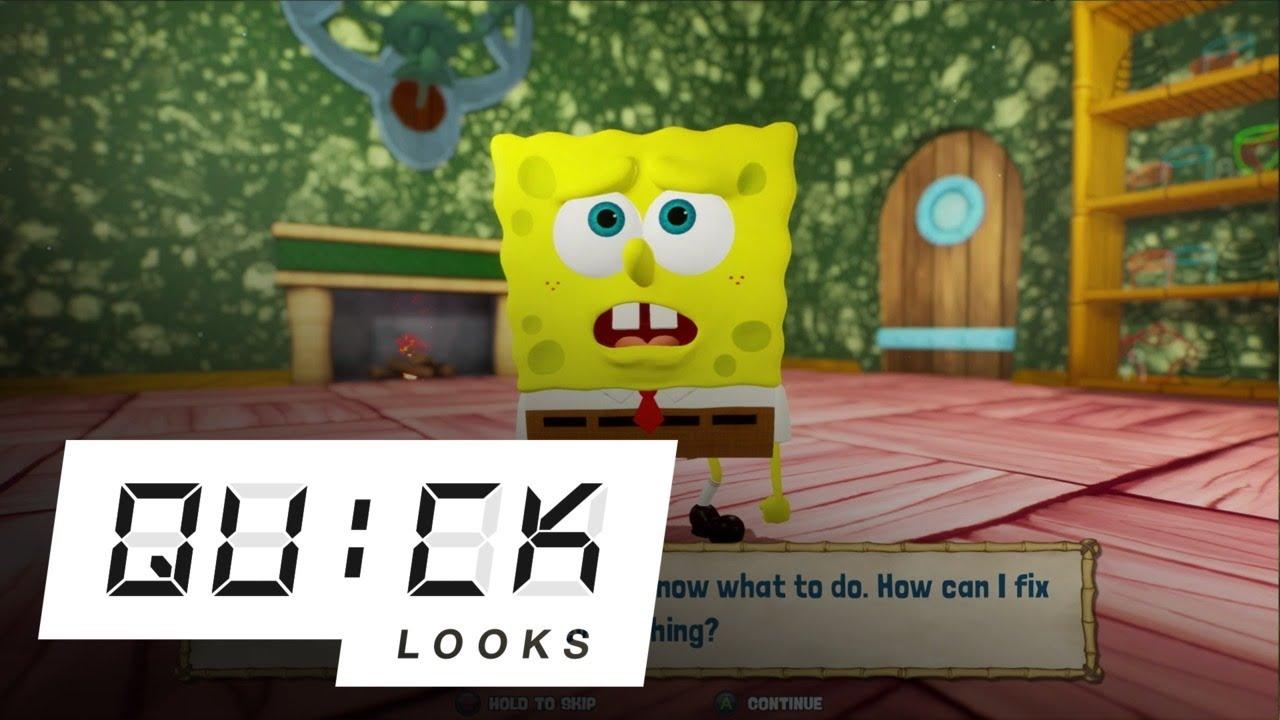 SpongeBob SquarePants: Battle for Bikini Bottom - Rehydrated: Quick Look (Video Game Video Review)
