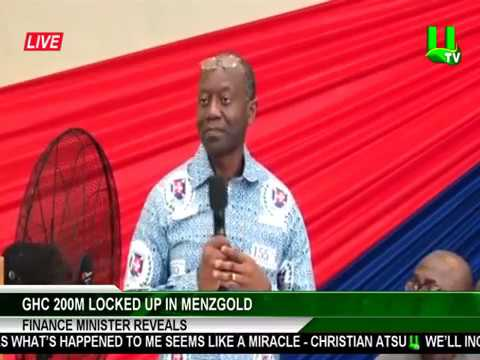 Ghc 200m Locked At Menzgold – Minister Tells Soldiers