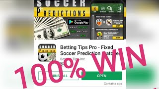 Get VIP Betting Tips of any Football Matches with Fixed Soccer Predictions app