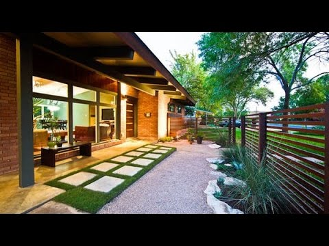 Modern Front Yard Landscaping Ideas - YouTube