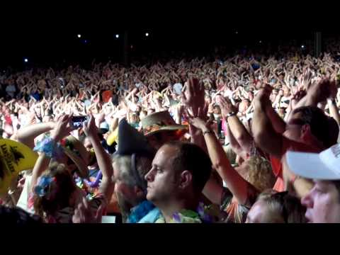 Jimmy Buffett, Blossom Music Center, Cuyahoga Falls, Ohio